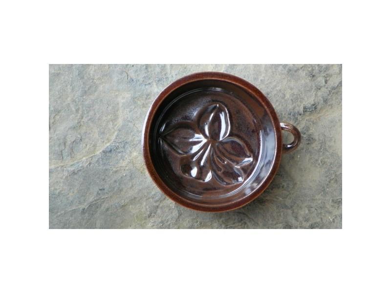 formička keramická kvítek kulatý