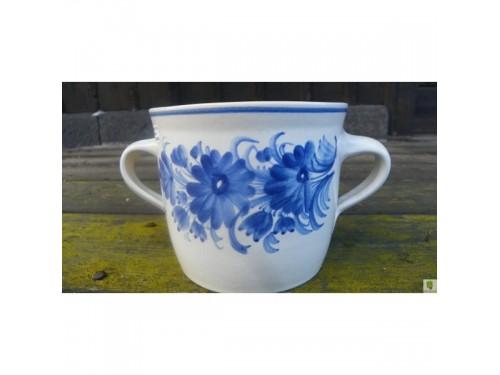 Sádlák 1 litr květy modrý
