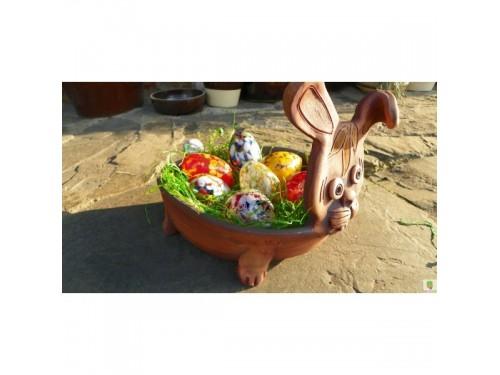 Velikonoční zajíc, mísa.