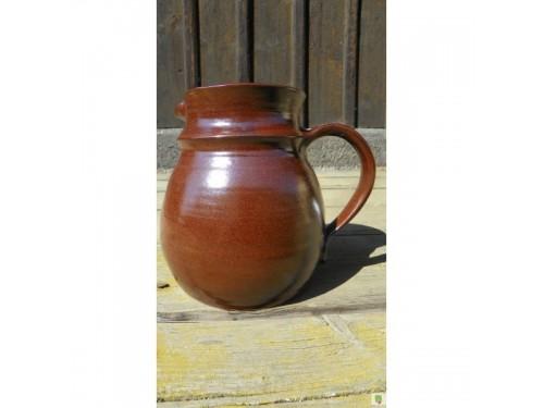 Džbánek keramický buclatý 1.5 litru