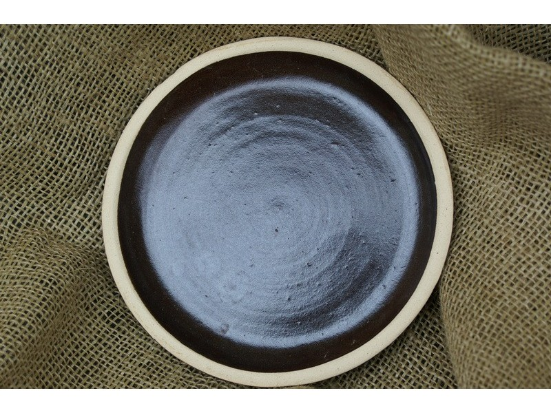 Podmiska prům 17cm- keramická-hnědá