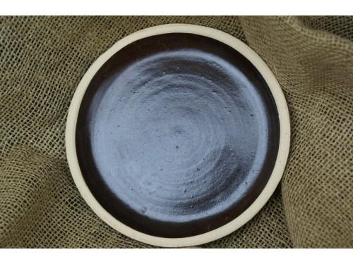Podmiska prům 34cm- keramická-hnědá
