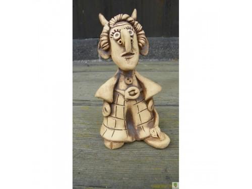 Čertík keramický