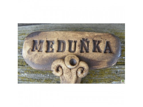 Keramické zapichovátko-Meduňka
