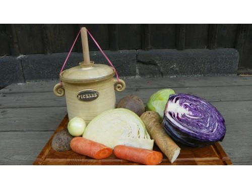 Nádoba 1litr na mléčně kvašenou zeleninu