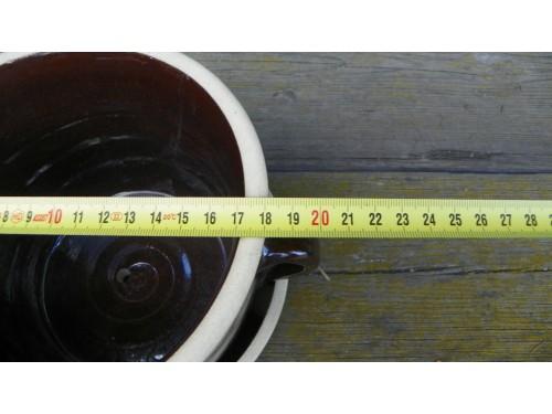 Květník -sádlák 2.litry s podmiskou.
