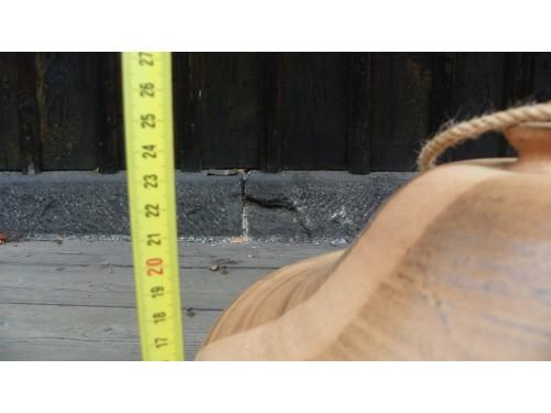 Krmítko keramické velké s okýnkem