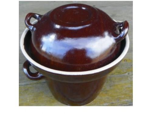 Kvašáček 2 litry se zátěží.