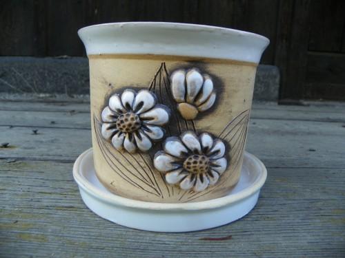 Květináč kopretina 18cm